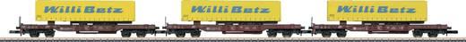 Märklin 82289 Z 3er-Set Taschenwagen der DB Schenker Rail