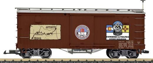 LGB L40671 G Gedeckter Güterwagen der C&T Railroad