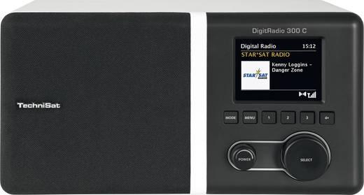 TechniSat Digitradio 300 C DAB+ Kofferradio AUX, DAB+, UKW Weiß