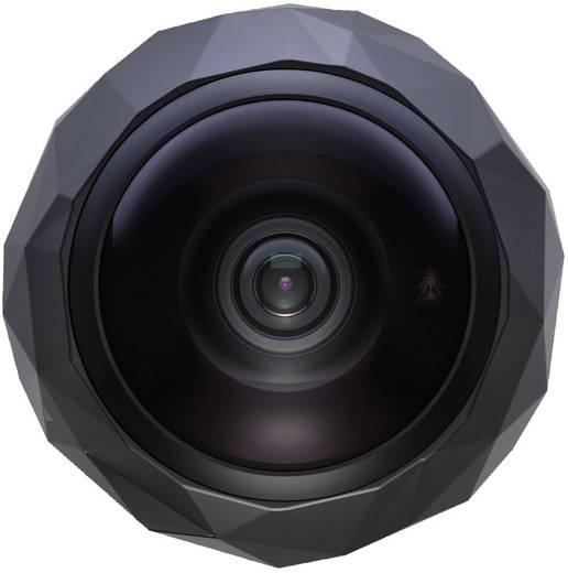Action Cam 360 Fly 1551011 1551011 360°, Full-HD, Interner Speicher, Wasserfest, WLAN, Staubgeschützt