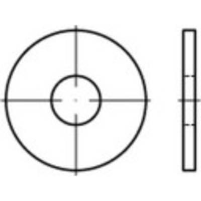 TOOLCRAFT 146470 Unterlegscheiben Innen-Durchmesser: 6.4 mm DIN 9021 Stahl galvanisch verz Preisvergleich