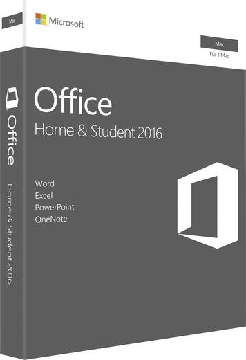 microsoft office 2016 home student f r mac vollversion 1 lizenz mac office paket kaufen. Black Bedroom Furniture Sets. Home Design Ideas