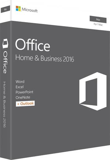 microsoft office 2016 home business f r mac vollversion. Black Bedroom Furniture Sets. Home Design Ideas
