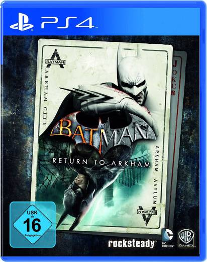 Batman: Return to Arkham PS4 USK: 16