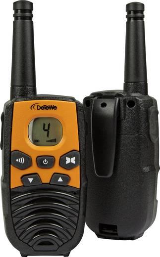 PMR-Handfunkgerät DeTeWe Outdoor 4000 208092 2er Set