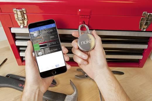 Vorhängeschloss 51 mm Bluetooth NOKE 151615 Metall Bluetooth-Vorhängeschloss