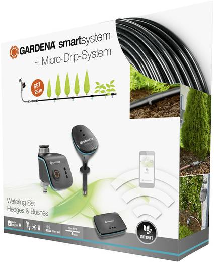 gardena smartsystem smart watering set pflanzenreihe 19104 20. Black Bedroom Furniture Sets. Home Design Ideas