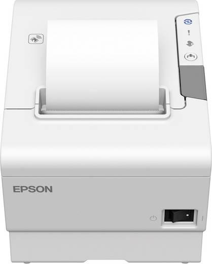 Epson TM-T88VI Bon-Drucker Thermodirekt 180 x 180 dpi Weiß USB, RS-232, LAN Bonrollen-Breite: 80 mm