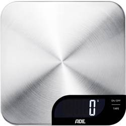 Digitálna kuchynská váha ADE KE 1600 Alessia, nerezová oceľ kartáčovaná