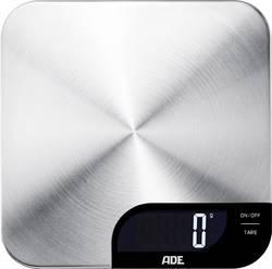 Kuchyňská váha ADE KE 1600 Alessia, digitální, max. váživost 5 kg, nerezová ocel kartáčovaná
