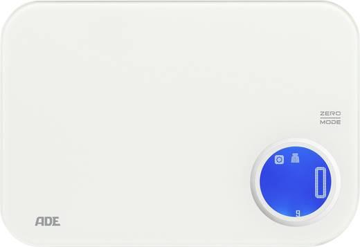 Küchenwaage digital ADE KE 1602 Blanca Wägebereich (max.)=5 kg Weiß