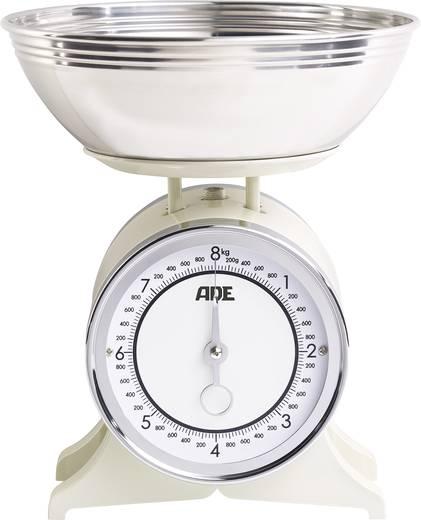 Küchenwaage analog, mit Messschale ADE KM 1500 Anna Wägebereich (max.)=8 kg Creme