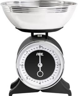 Kuchyňská váha mechanická, s odměrnou mísou ADE KM 1501 Anna, černá