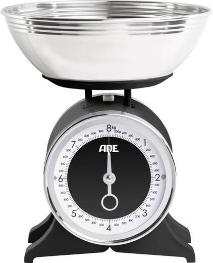 Küchenwaage analog, mit Messschale ADE KM 1501 Anna Wägebereich (max.)=8 kg Schwarz