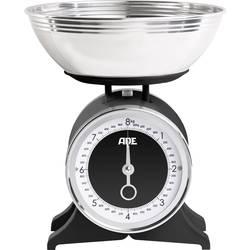 Mechanická, s odmernou misou kuchynská váha ADE KM 1501 Anna, čierna
