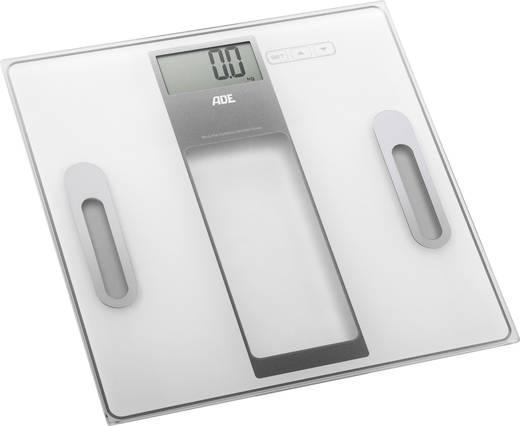 Körperanalysewaage ADE BA 1301 Tabea Wägebereich (max.)=180 kg Weiß-Silber