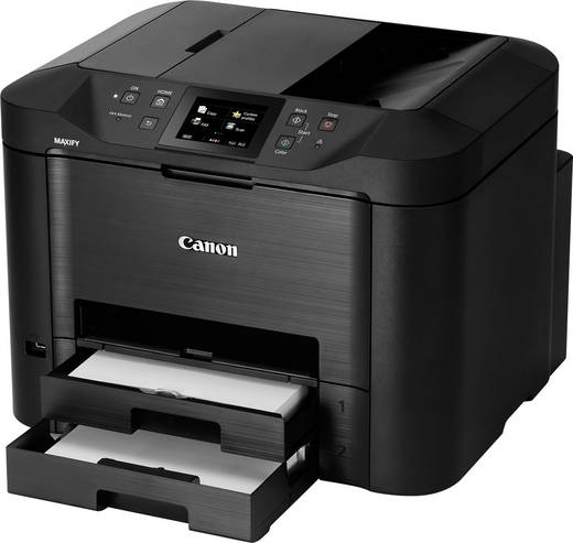 canon maxify mb5450 tintenstrahl multifunktionsdrucker a4 drucker scanner kopierer fax lan. Black Bedroom Furniture Sets. Home Design Ideas