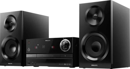 Philips izzy BM60B Stereoanlage AUX, Bluetooth®, CD, UKW, USB, Multiroom-fähig 130 W Schwarz