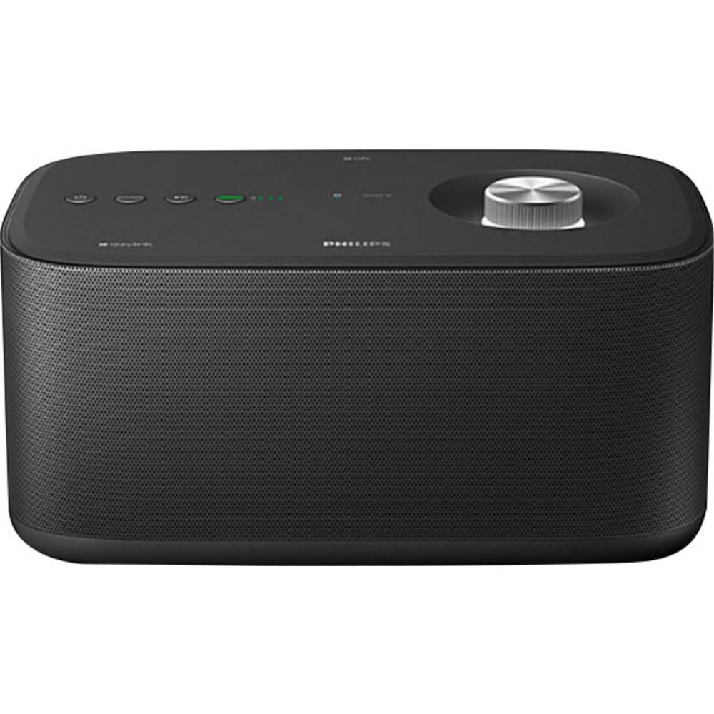 enceinte multiroom philips izzy bm7b aux bluetooth wifi nfc noir sur le site internet conrad. Black Bedroom Furniture Sets. Home Design Ideas