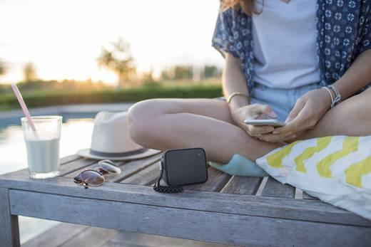 Bluetooth® Lautsprecher Philips BT110B spritzwassergeschützt Schwarz