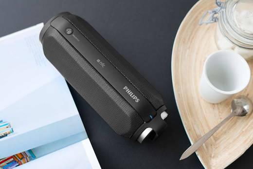 Bluetooth® Lautsprecher Philips BT6600B Freisprechfunktion, NFC, spritzwassergeschützt Schwarz