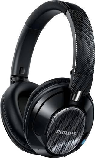 Bluetooth® Reise Kopfhörer Philips SHB9850NC Over Ear Faltbar, Headset, NFC, Noise Cancelling Schwarz