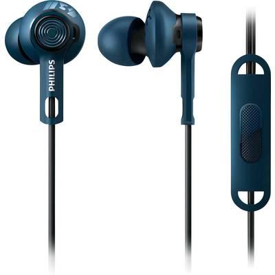 Sport Kopfhörer Philips SHQ2405BL ActionFit In Ear Headset, Schweißresistent, Wasserabweis Preisvergleich
