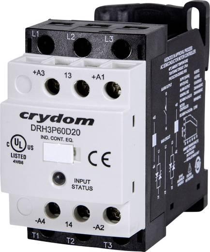 Halbleiterschütz 1 St. DRH3P60A20R Crydom Laststrom: 20 A Schaltspannung (max.): 600 V/AC