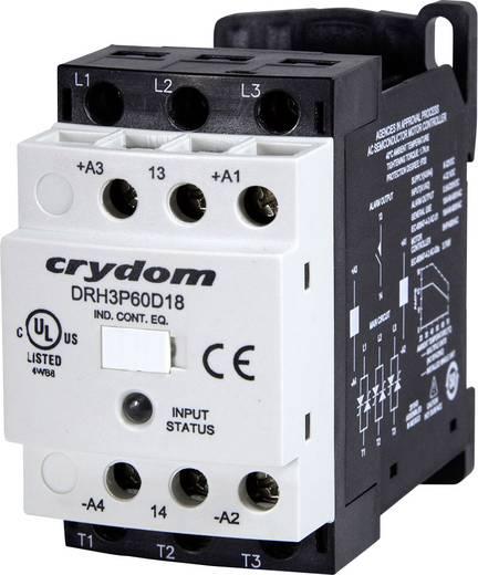 Halbleiterschütz 1 St. DRH3P60D18R Crydom Laststrom: 18 A Schaltspannung (max.): 600 V/AC