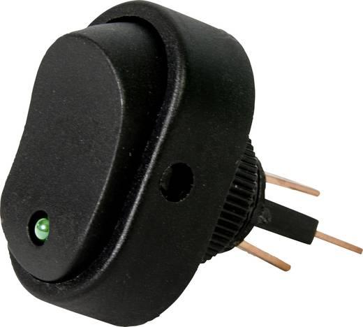 Kfz-Wippschalter 12 V 16 A 1 x Aus/Ein rastend HP Autozubehör 1 St.