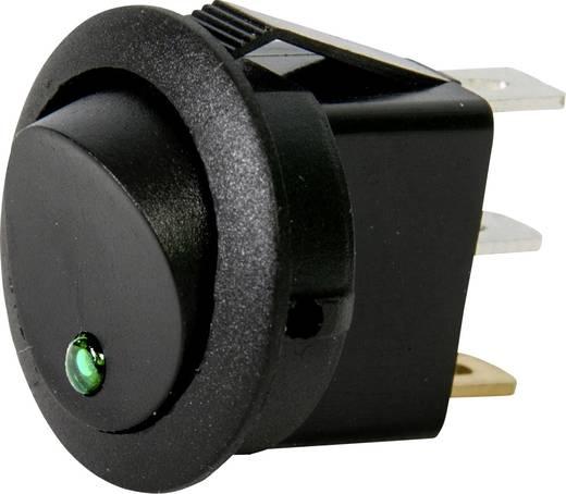 Kfz-Wippschalter 12 V 10 A 1 x Aus/Ein rastend HP Autozubehör 1 St.