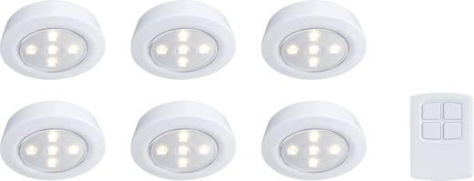 LED-Schrankleuchte 6er Set 1.8 W Warm-Weiß Polarlite Weiß