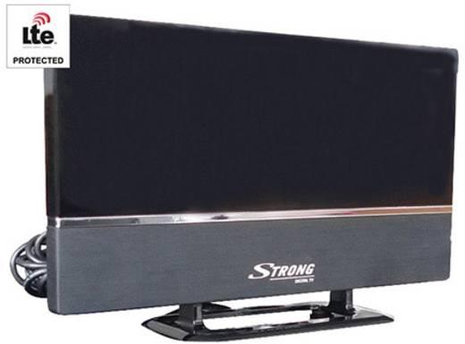 DVB-T2 Receiver Strong T2 freenet TV - Starter Set freenet TV Entschlüsselung 3 Monate gratis, Deutscher DVB-T2 Standard
