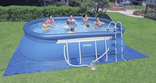 Easy Pool (Aufblasring) Intex 128192GS (LxBxH) 549 x 305 x 107 cm inkl. Leiter, inkl. Filterpumpe