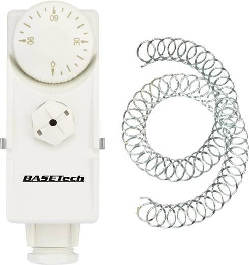 Rohranlegethermostat 0 bis 90 °C Basetech GB-0/90A