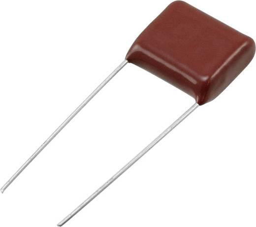 Folienkondensator radial bedrahtet 0.22 µF 630 V/DC 10 % 15 mm (L x B) 18.5 mm x 9 mm Panasonic ECQ-E6224KF 1 St.