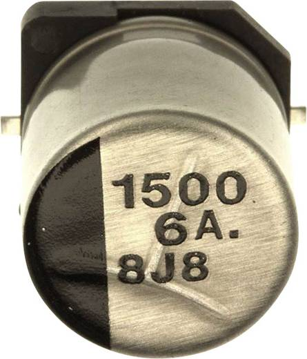 Elektrolyt-Kondensator SMD 1500 µF 6.3 V 20 % (Ø) 10 mm Panasonic EEE-0JA152UAP 1 St.