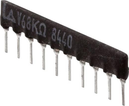 Widerstandsnetzwerk 680 kΩ radial bedrahtet SIP-10 125 mW Panasonic EXB-F10E684G 1 St.