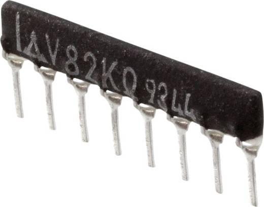 Widerstandsnetzwerk 82 kΩ radial bedrahtet SIP-8 200 mW Panasonic EXB-F8V823G 1 St.