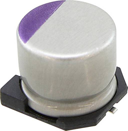 Elektrolyt-Kondensator SMD 270 µF 10 V 20 % (Ø) 8 mm Panasonic 10SVPC270M 1 St.