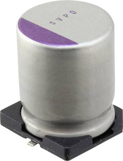 Elektrolyt-Kondensator SMD 82 µF 25 V 20 % (Ø) 10 mm Panasonic 25SVPD82M 1 St.