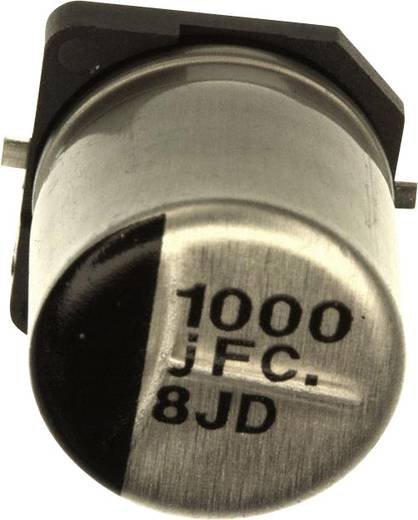 Elektrolyt-Kondensator SMD 1000 µF 6.3 V 20 % (Ø) 10 mm Panasonic EEE-FC0J102AP 1 St.