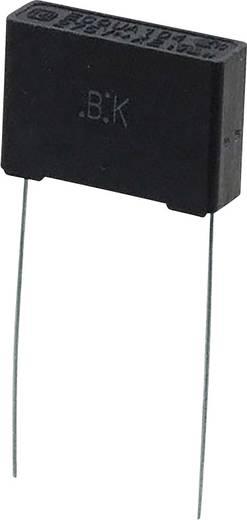 Folienkondensator radial bedrahtet 0.1 µF 275 V/AC 10 % 15 mm (L x B) 17.5 mm x 5 mm Panasonic ECQ-UAAF104K 1 St.