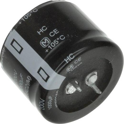Elektrolyt-Kondensator SnapIn 10 mm 2200 µF 200 V 20 % (Ø) 35 mm Panasonic EET-HC2D222EA 1 St.