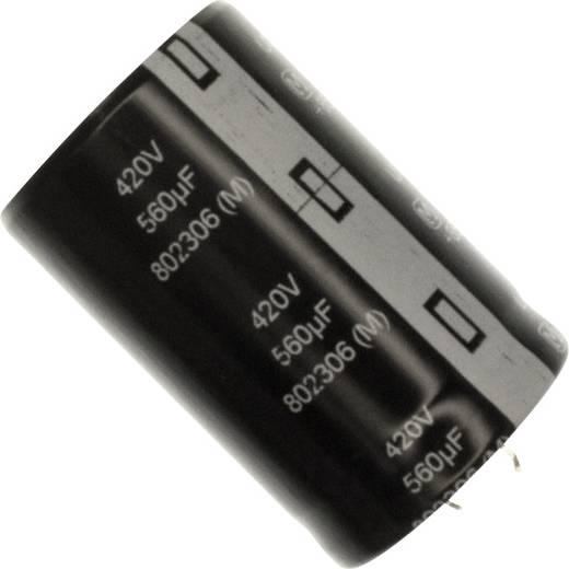 Elektrolyt-Kondensator SnapIn 10 mm 560 µF 420 V 20 % (Ø) 30 mm Panasonic EET-UQ2S561KF 1 St.
