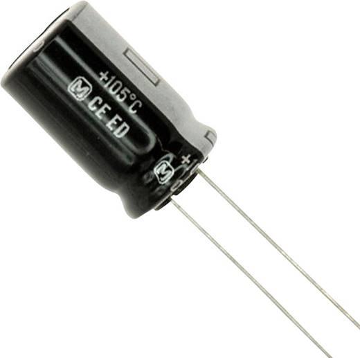 Elektrolyt-Kondensator radial bedrahtet 5 mm 15 µF 400 V 20 % (Ø x L) 12.5 mm x 7.3 mm Panasonic EEU-ED2G150 1 St.