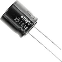 Elektrolytický kondenzátor Panasonic EEU-ED2E151, 7.5 mm, 150 µF, 250 V, 20 %, 1 ks