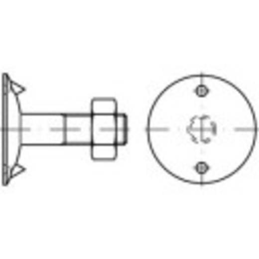 Tellerschrauben M12 40 mm Außensechskant DIN 15237 Stahl 100 St. TOOLCRAFT 147113