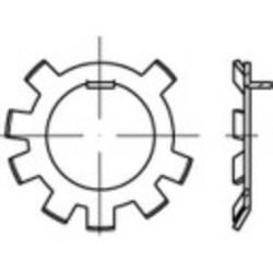 Pojistný plech TOOLCRAFT 147177, vnitřní Ø: 24.9 mm, vnější Ø: 34 mm, 50 ks