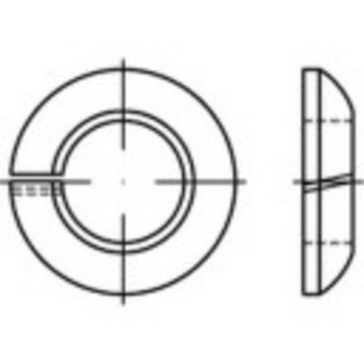 Federringe Innen-Durchmesser: 16.5 mm DIN 74361 Federstahl galvanisch verzinkt 100 St. TOOLCRAFT 147237